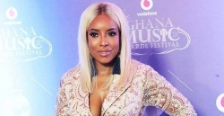 Joselyn Dumas Matched Her Blonde Hair To Her Dress At Ghana Music Awards