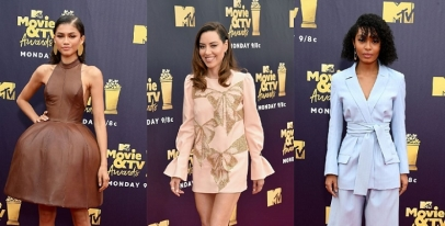 The Best Red Carpet Looks From 2018 MTV Movie Awards