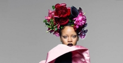 Rihanna Goes Without Eyebrows For The September Issue of British Vogue