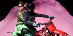 Rihanna's Delivered Her Fenty Puma Fashion Show With Motorcycles