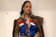 Rihanna Draped Herself Completely In Gucci