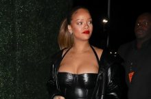 Rihanna Describes Herself With Three Words In This All-Black Outfit
