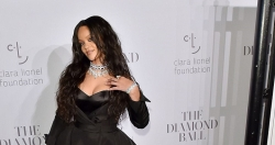 Rihanna Wows In A Floor-Grazing Gown At Her Third Annual Diamond Ball