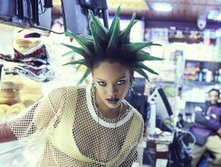 Rihanna Is Wearing The Most Quirky Hairstyle For Paper Magazine Shoot