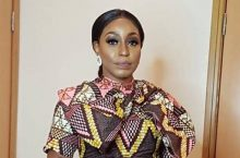 Rita Dominic Wears The Ankara Dress Better Than You