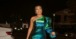 Rita Dominic Shows Her Street Style Game In A Flattering Green Dress