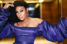Rita Dominic Wore a Juicy Tiffany Amber Dress With Jaw-Dropping, Billowing Sleeves
