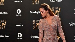 Rita Ora Wore A Very Beautiful Naked Dress At BAMBI Awards