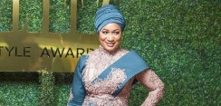 Ghanaian Second Lady Samira Bawumia Oozed Pure Elegance In Heavily Embellished Dress