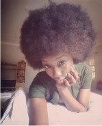 Nollywood Actress Beverly Naya Just Debuted Her Natural Hair, And It's Gorgeous