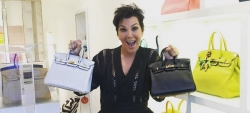 Kris Jenner Elated to Add Two New 'Baby Birkin' Bags to Her Wardrobe