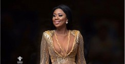 Selly Galley's Dress Has A Daring Neckline But Our Eyes Are Somewhere Else