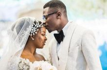 Ghanaian Designer, Sima Brew Wore A Beautiful Fairytale Wedding Gown On Her Big Day