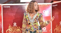 Singer Efya's Dress Will Be The Most Sparkled African Prints Dress You've Ever Seen