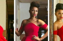 Adesua Etomi Takes Festive Holiday Dressing To Next Level Will Make You Want A Red Dress