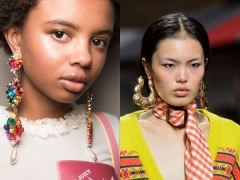 If You Think You've Seen Statement Earrings Before, Then Enter London Fashion Week Spring 2017