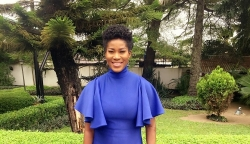 Stephanie Okereke Approved Way To Wear All Blue Outfit