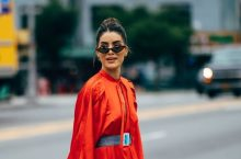 A Look At The Street Style From New York Fashion Week
