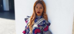 Tiwa Savage's Ankara Dress Is All You Need To Wear On A Weekend