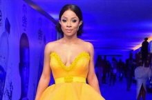 Toke Makinwa Just Won The Best-Dressed In This Gorgeous, Dramatic Yellow Dress