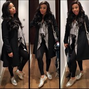 Toke Makinwa Just Wore One Of The Biggest Trends Of 2016…And She Killed It.