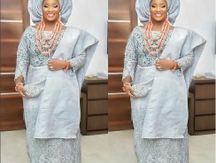 OAP Tolu Oniru's Traditional Wedding Outfits Looks Beautiful On Instagram