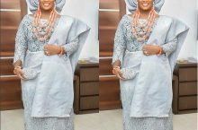 OAP Tolu Oniru's Traditional Wedding Outfits Looks Beautiful On Instagram