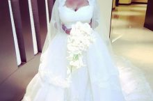OAP Toolz Wore The Prettiest Wedding Gown For Her Big Day