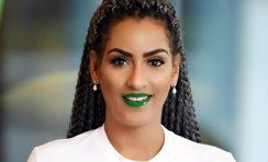 Juliet Ibrahim Is Making Men To Wear Green Lipstick For World Kidney Cancer Day