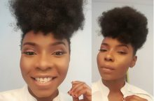 3 Nigerian Celebrities Who Is Teaching Us To Go Natural Hair
