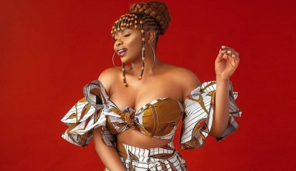 Take Notes Because This Is How Yemi Alade Is Wearing The On-Trend Leopard Prints