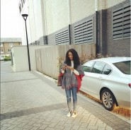 Yvonne Nelson Has Been Carrying One Handbag All Over London