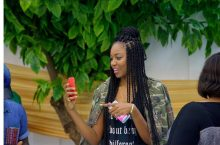 If Toolz Oniru's Hairstyle Looks Familiar, It's Because Yvonne Nelson Wore It First