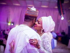 Zahra Buhari's Wedding Gown Completely Left Us Awestruck