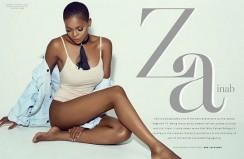 See Zainab Balogun Bare Her Skin In A Sexy Bold Magazine Cover