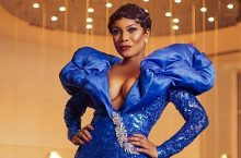 Did You See Actress Zynnell Lydia's Dress To Vodacom Ghana Music Awards?