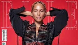 Alicia Keys Covers Elle Brazil With No Drop Of Makeup