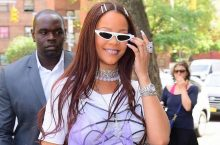 Rihanna Stepped Out for a Dinner Date With Her Boyfriend Hassan Jameel in a Thigh-High Slit Dress