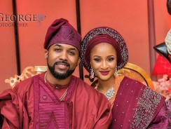 Even If You Don't Like Adesua Etomi, You'll Fall In Love With Her Wedding Introduction Dress