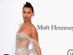 You Have To See Bella Hadid's 2017 Naked Dress