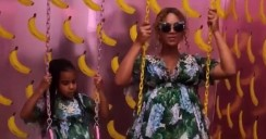 When It Comes To Mother-and-Daughter Style, Beyonce Is A Winner