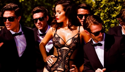 See All The Looks In Honey Birdette's BODYGUARD Lingerie Campaign