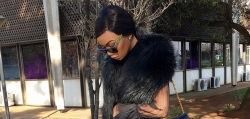 Bonang Matheba Proofs Black Is As Chic As You Can Imagine