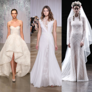 See The Best Wedding Gowns From Bridal Fashion Week Fall 2016