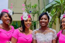 These Bridesmaids Looks Very Fancy, They Almost Outshined The Bride