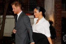 Meghan Markle Slipped Into A Givenchy White Shirt & Long Black Skirt For Endeavour Fund Awards