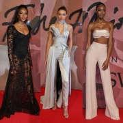 See What Everyone Wore At British Fashion Awards 2016