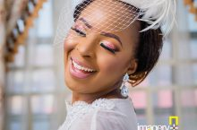 This Bride Wore A Caped Wedding Gown And It's Amazing
