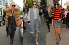 Celebrities Spotted At London Fashion Week; See How They're Diong It