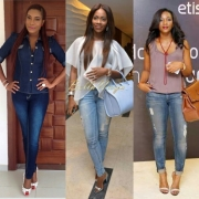 It's About Jeans: Inspiring Nollywood Celebrity Denim